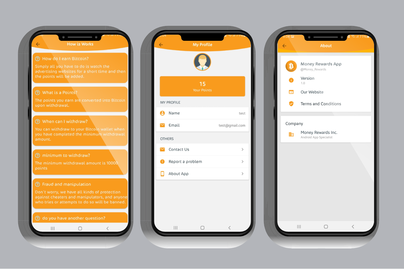 Bitcoin Miner App with Admin Panel and Admob - 5