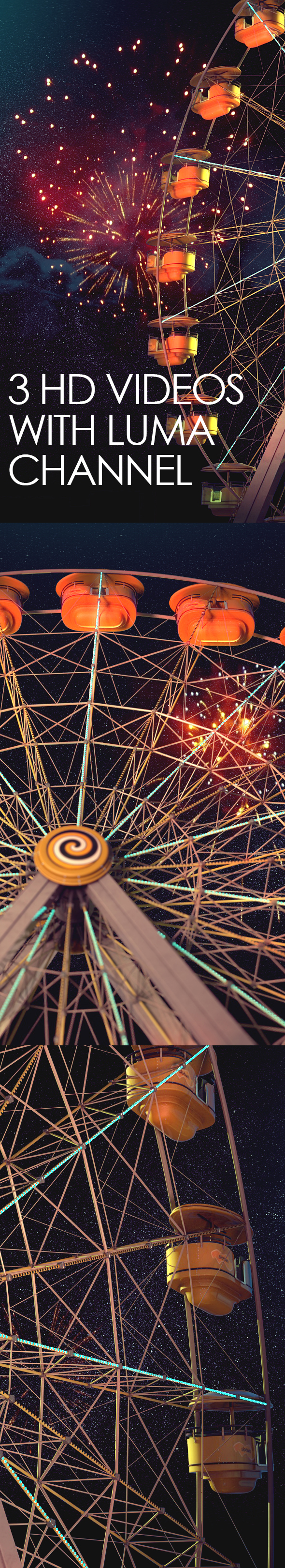 Ferris Wheel at Night - 1