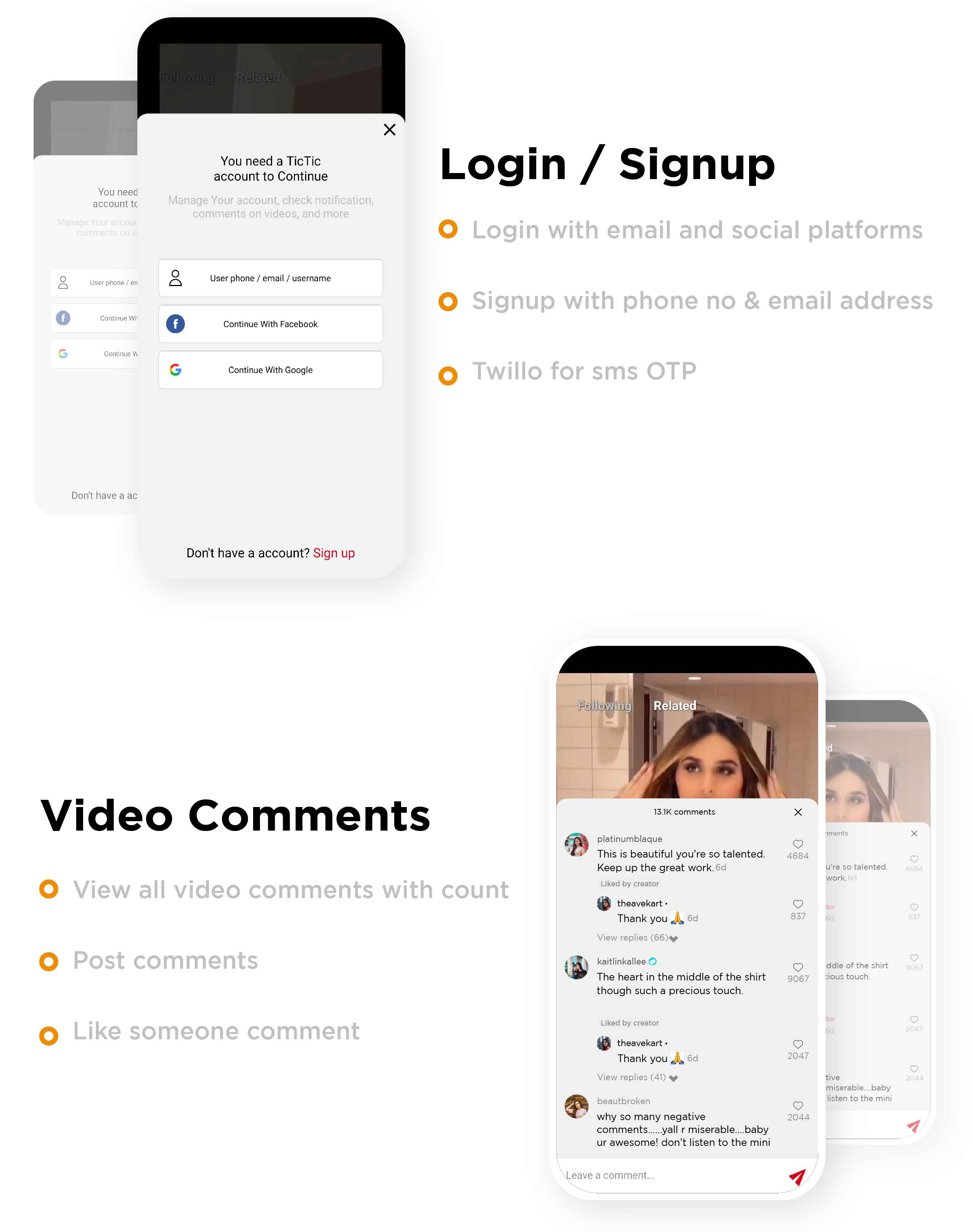 TicTic -  Android media app for creating and sharing short videos - 6