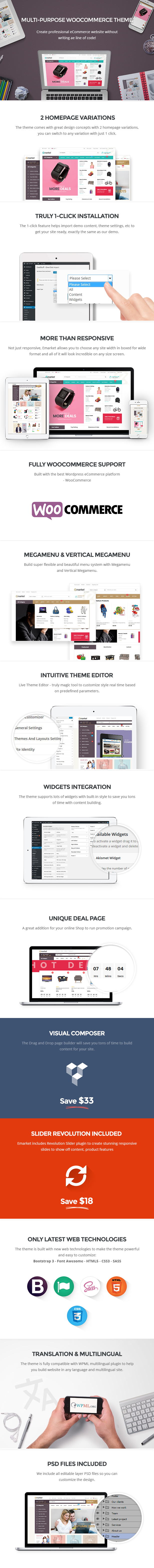 multi-purpose wordpress theme