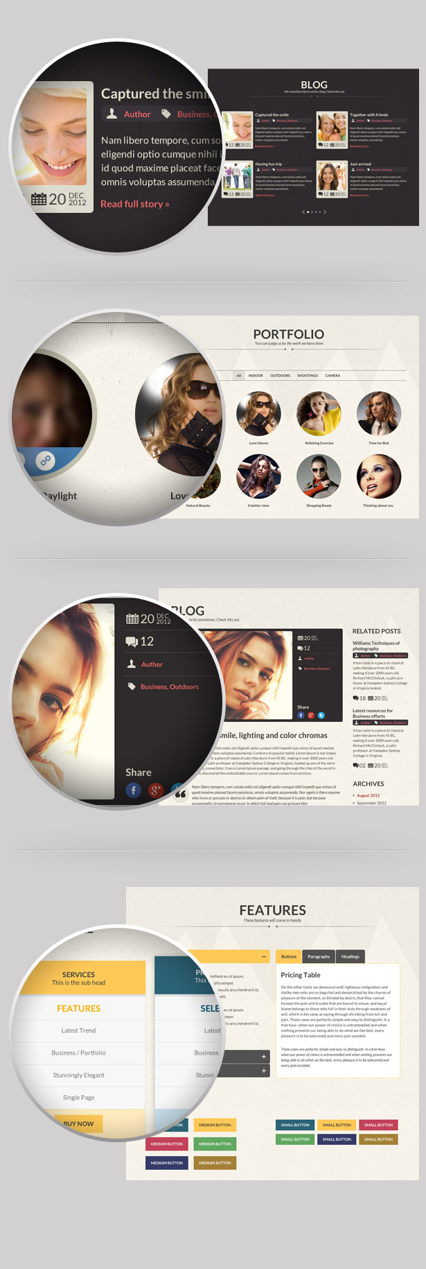 CORE - Multipurpose Single Page PSD Template - 2