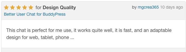 Daha iyi kullanıcı BuddyPress yorumlara sohbet