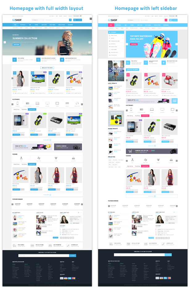 G2shop - Homepage
