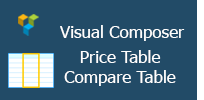 Visual Composer - Price Table|Compare Table