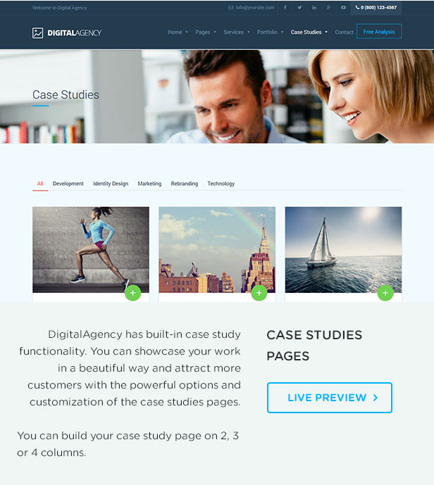 Digital Agency - SEO / Marketing WordPress Theme - 4