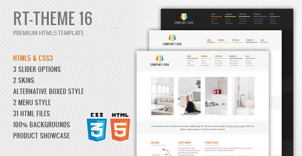 RT-Theme 15 Premium HTML Template  - 9