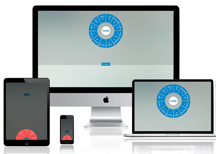 Responsive CSS3 Circular Navigation - 1