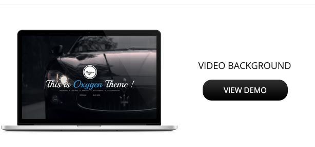 Oxygen One Page Parallax Theme - 5