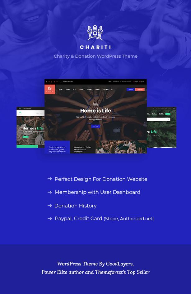 Chariti - Charity & Donation WordPress - 2