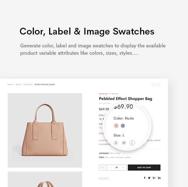 Supro - Minimalist AJAX WooCommerce WordPress Theme - 17