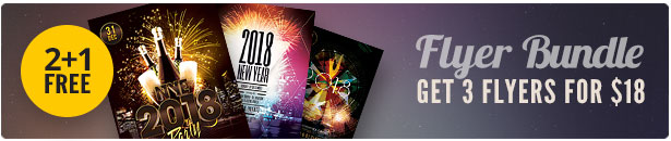 New Year Flyer Bundle Vol.05