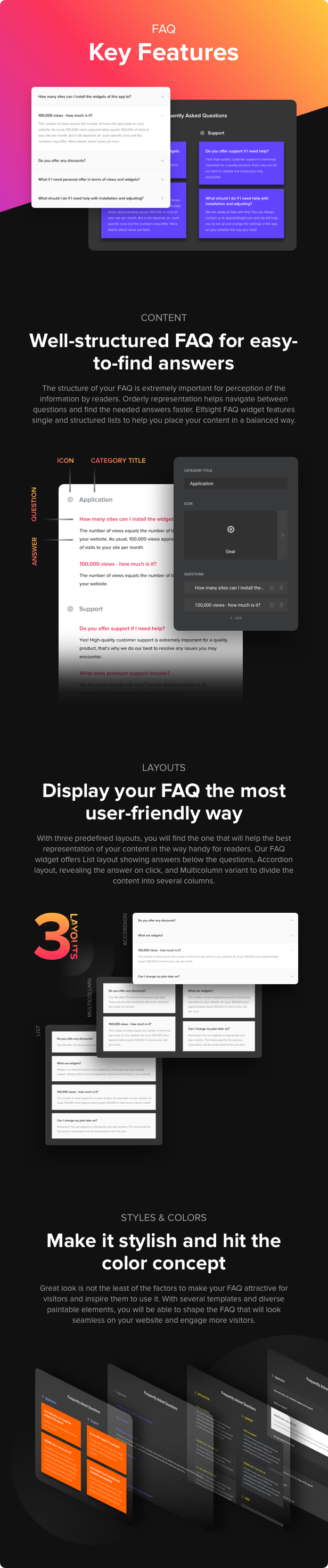 Accordion FAQ - WordPress FAQ Plugin - 2