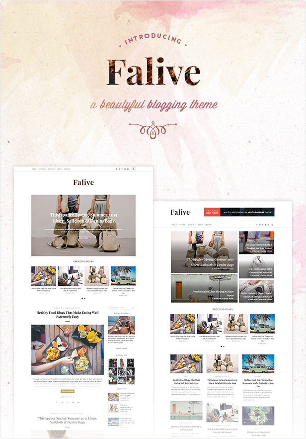 Falive - Beautiful Creative & Fashion Blog Theme - 2