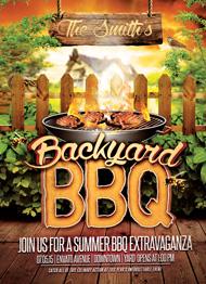 Design Cloud: Backyard BBQ Flyer Template