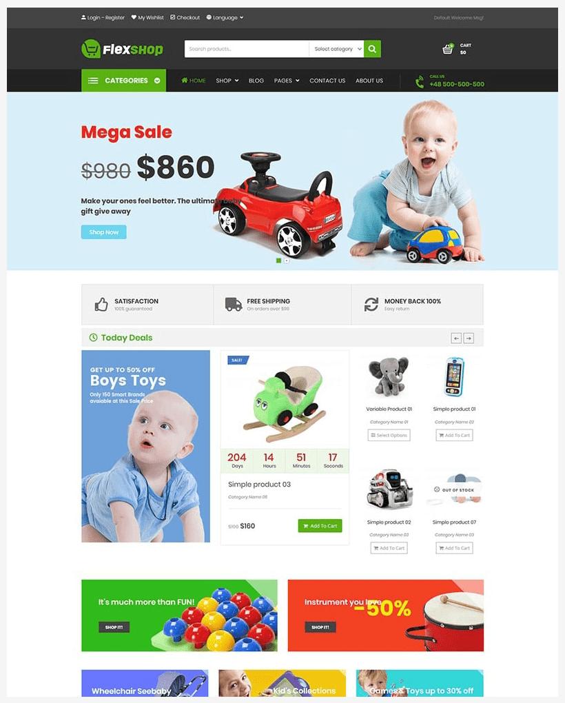 VG Flexshop - Multipurpose Responsive WooCommerce Theme - 11