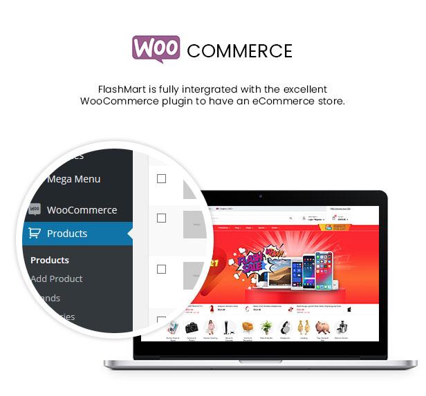 FlashMart - Multipurpose Elementor WooCommerce WordPress Theme - WooCommerce Intergration