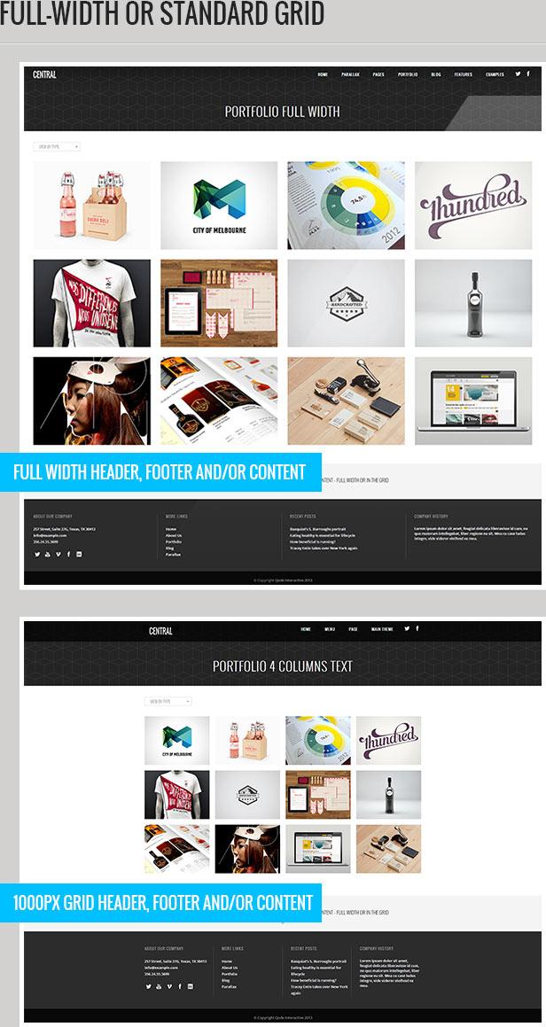 Central - Versatile, Multi-Purpose WordPress Theme - 3