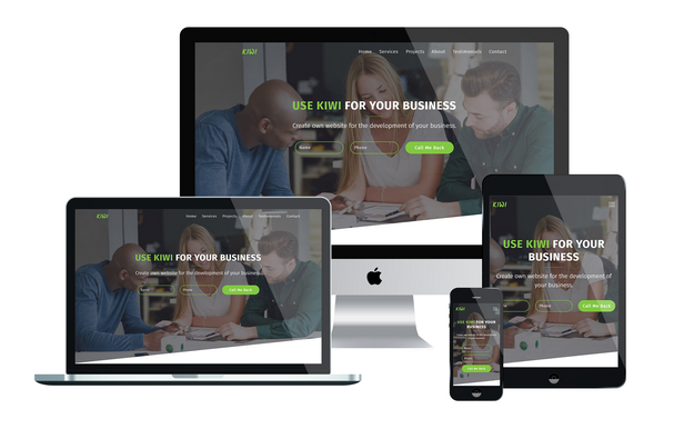 KIWI - Startup Business Muse Template