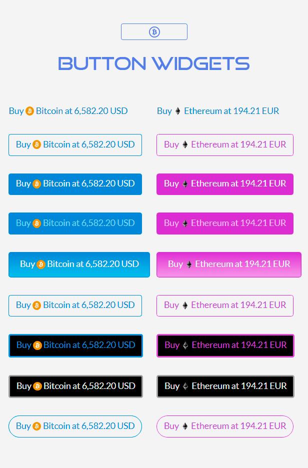 Premium Cryptocurrency Widgets | WordPress Crypto Plugin - 4