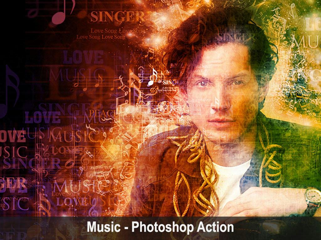 Music _ Photoshop Action