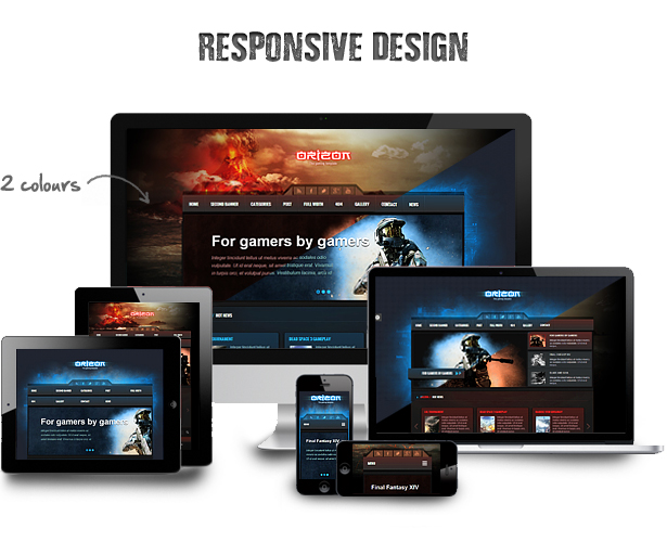 Orizon - The Gaming Template WP version - 6