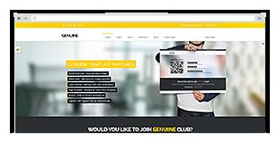Genuine - Multi Purpose HTML5 Creative Template - 5