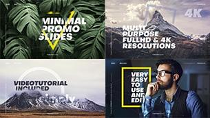 Minimal Promo Slideshows Pack - 3
