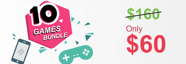 10 bundle html5 games