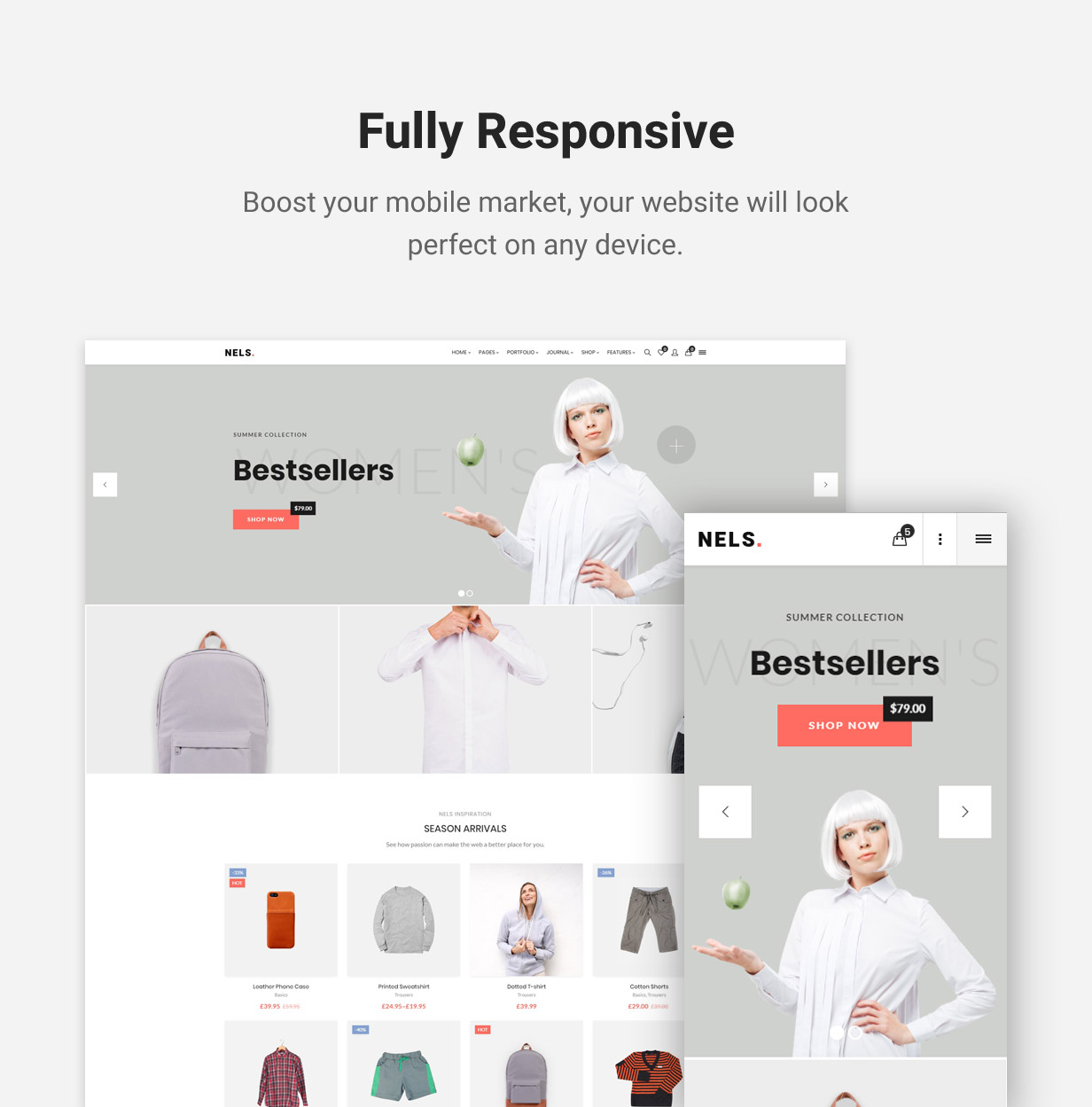 Nels - An Exquisite eCommerce WordPress Theme - 11