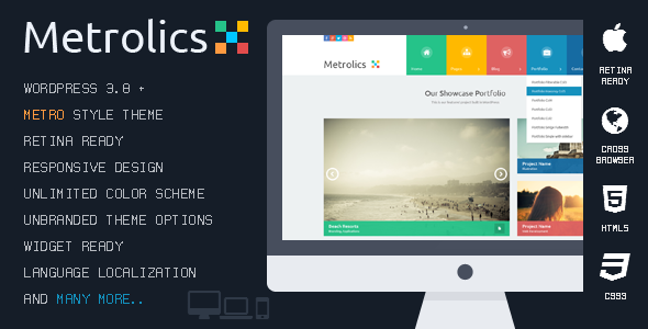 Metrolics - Business Metro Sytle PSD Template - 7