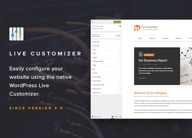 Live Customizer
