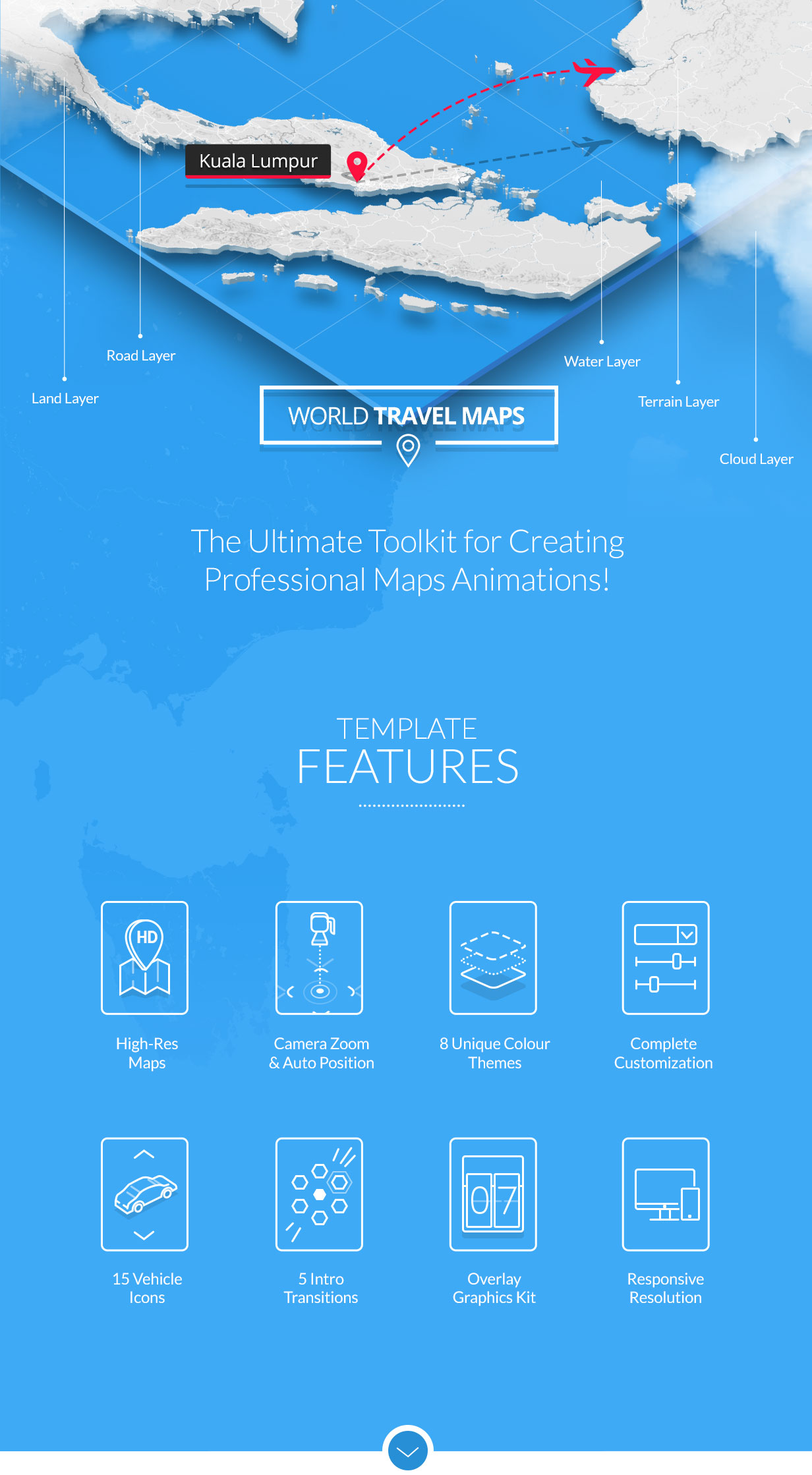 World Travel Maps - 1