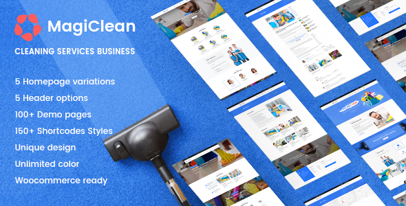 MagiClean | Cleaning Company WordPress Theme