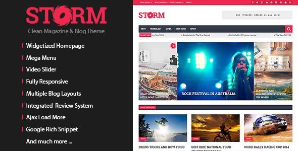 KAMI - Creative Magazine and Blog WordPress Theme - 4