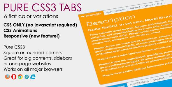 Pure CSS3 Sliders - 1