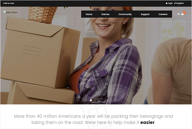 Jet - Home Moving Services WordPress Theme by Opal_WP