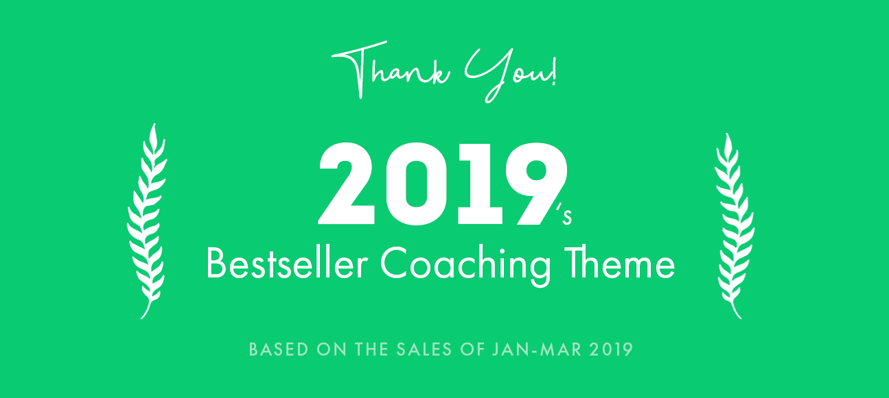 bestseller coaching theme of 2019 by pixelwars - efor wordpress coaching theme for coaches