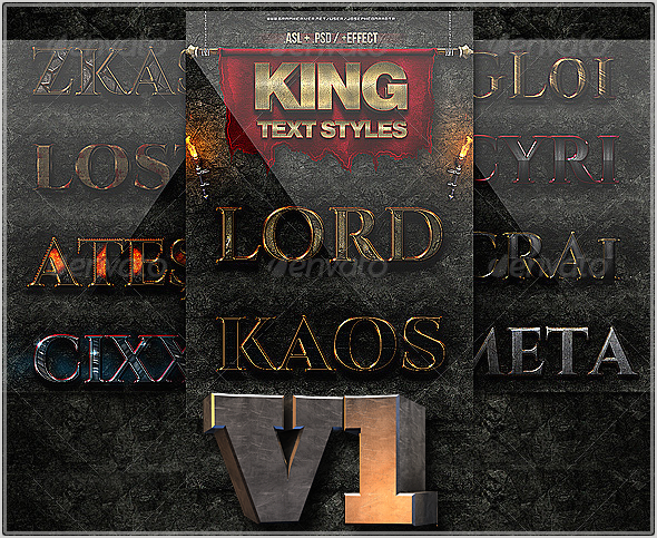 King Text Styles v1