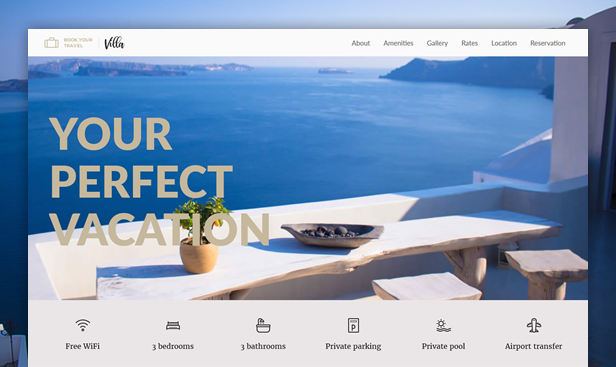 Book Your Travel - Online Booking WordPress Theme - 18