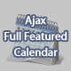 Ajax Full Featured Calendar