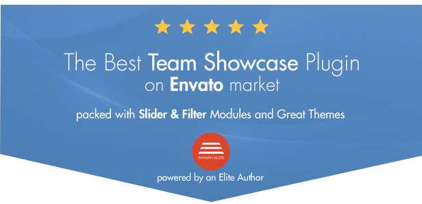 My Team Showcase WordPress Plugin - 1
