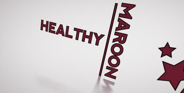 healthy maroon