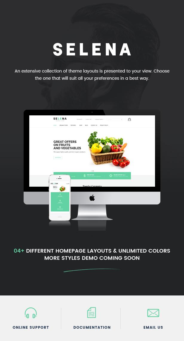 Selena - Organic Food Store Theme for WooCommerce WordPress 40