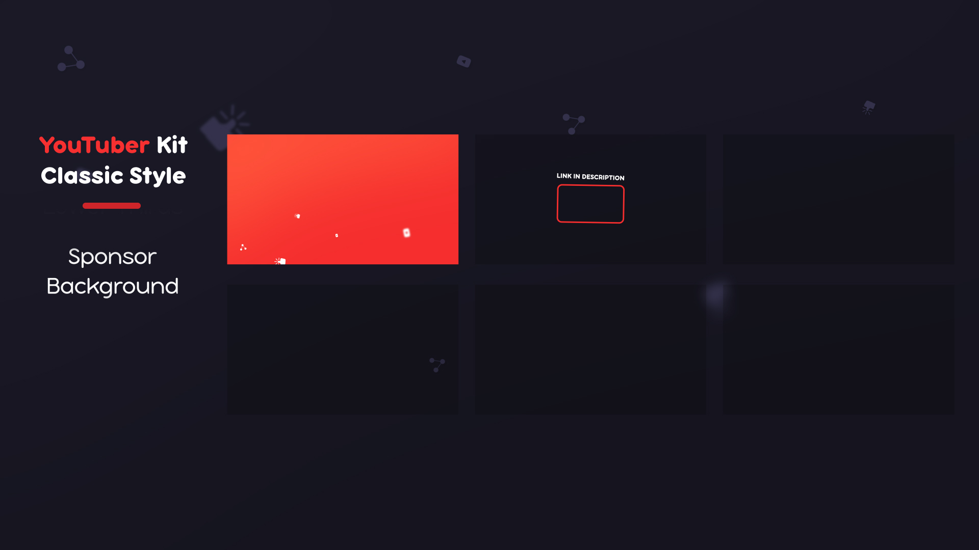 YouTuber Kit   Classic - 12