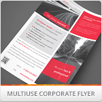 Multipurpose Corporate Flyers, Magazine Ads vol. 8
