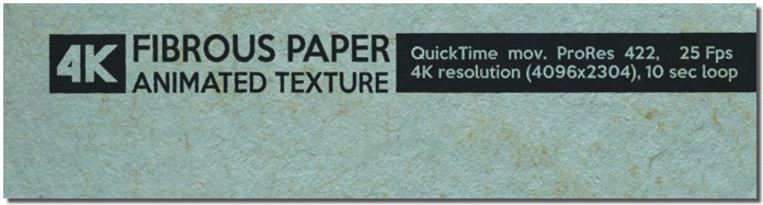 Fibrous Paper Animated Texture