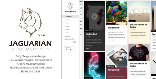 Jaguarian - Responsive Joomla Template - 1