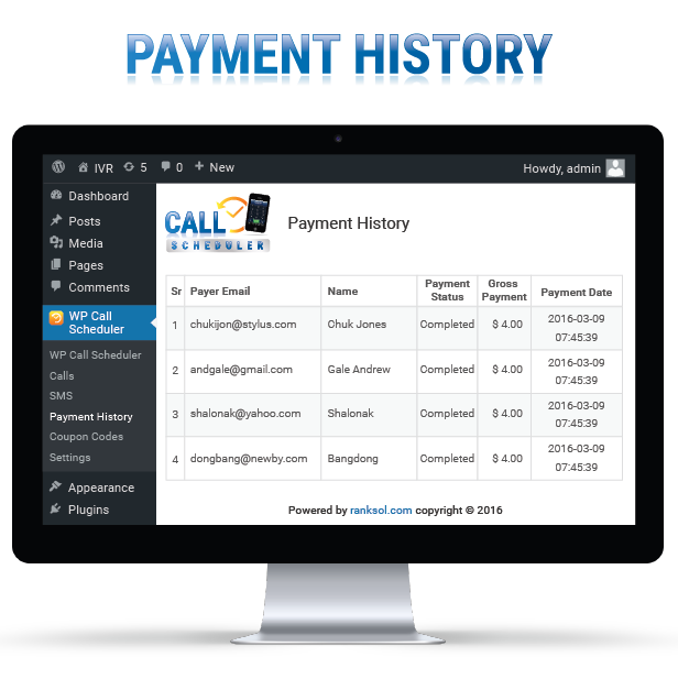 Payment History Image