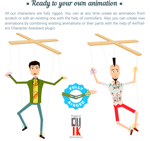AinTrailers | Explainer Video Toolkit with Character Animation Builder - 50