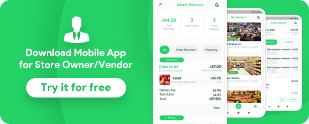 Grocery, Food, Pharmacy, Store Delivery Mobile App with Admin Panel - 17